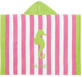 Pottery Barn Kids Seahorse Stripe Baby Beach Wrap