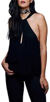 Free People 'Twist Shout' Front Keyhole Tank