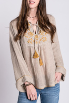 Ivy Jane Flower Embroidery Tunic