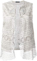 Cutuli Cult embroidered knitted gilet