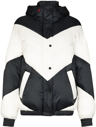 Perfect Moment Aspen ski hooded puffer jacket