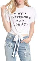 Wildfox Couture Women's My Boyfriend Is A Cowboy Tee