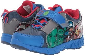 Favorite Characters Avengerstm Lighted AVF356 (Toddler/Little Kid) (Blue) Boy's Shoes