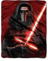 "Star Wars Episode 7: The Force Awakens ""New Sith"" 40"" x 50"" Silk Touch Throw"