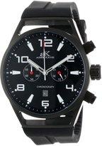 Adee Kaye Men's AK7232-MIPB BLACK Ak7232-Mipb (Blk) Raven Collection Watch