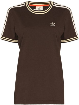 adidas x Wales Bronner embroidered logo T-shirt