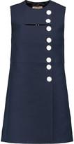 Emilio Pucci Buttoned canvas mini dress
