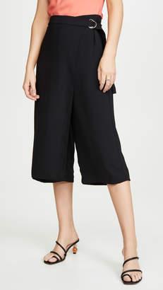 Amanda Uprichard Wrap Front Trousers