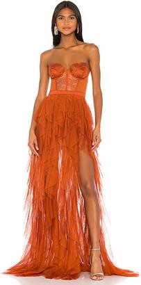 For Love & Lemons X REVOLVE Bustier Gown