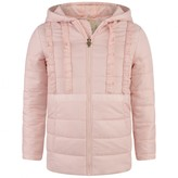 GUESS GuessPink Padded Jacket With Ruffles