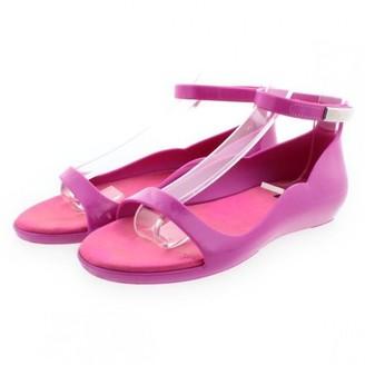 Louis Vuitton Purple Plastic Sandals