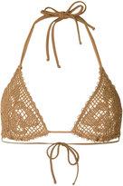 Ermanno Scervino loose knit bikini - women - Polyamide/Spandex/Elastane - I