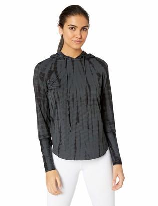 Maaji Women's Waves Printed Hooded Long Sleeve Layer Top