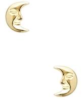 Good Charma Moon Stud Earrings