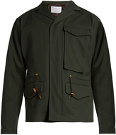 Kolor Notch-lapel cotton-gabardine field jacket