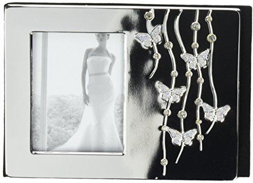 Lillian Rose Silver Butterfly Wedding CD Case Holder