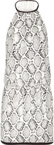 Vix Serpent snake-print voile dress