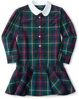 Ralph Lauren Plaid Cotton Oxford Shirtdress