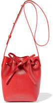 Mansur Gavriel Mini Mini Textured-leather Bucket Bag