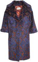 L'Autre Chose Jaquard-velvet Coat