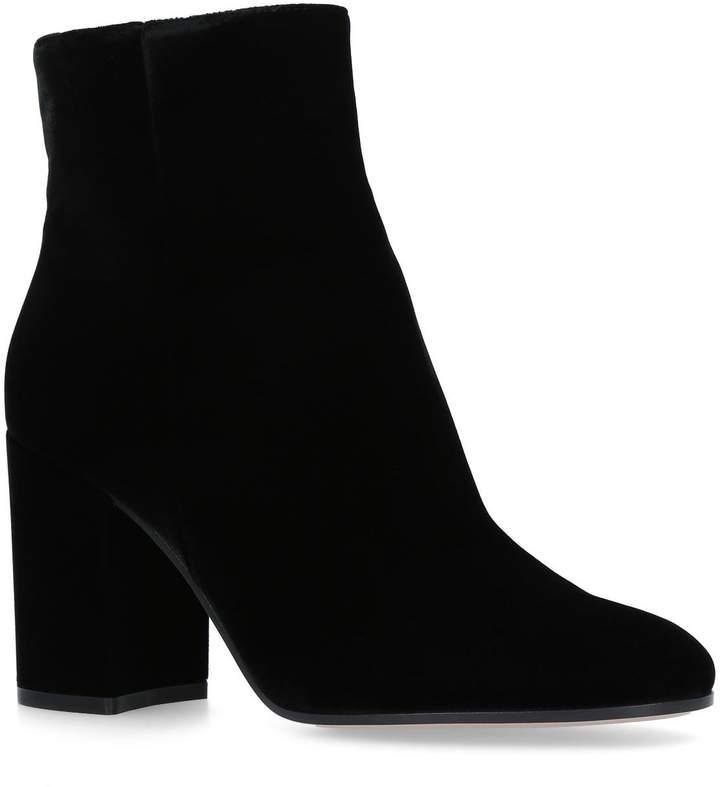 Gianvito Rossi Velvet Rolling Boots 85