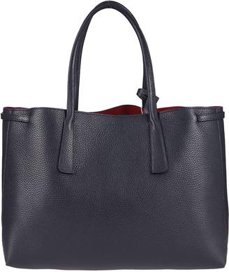Zanellato Navy Leather Tote Bag