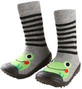Leapfrog Leap Infant Baby Cartoon Patterned Soft Rubber Bottom Anti-slip Floor Socks Boots 18-24M