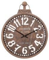 "Aurora Traditional Decorative Clock (26.57 X 26.18 X 4.33"")"