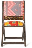 Terai Folding Chair, Floral Tapestry