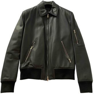 Hermes Blue Leather Jackets