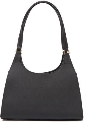 Calvin Klein Ava Saffiano Leather Organizational Shoulder Bag