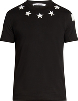 Givenchy Cuban-fit star-appliqué T-shirt