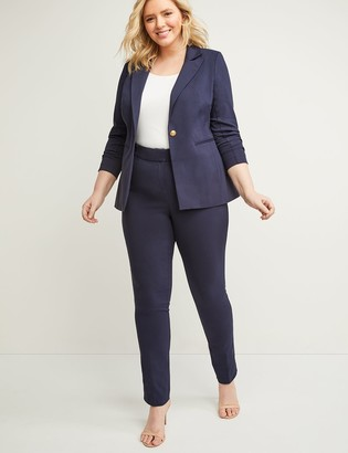 Lane Bryant Allie Sexy Stretch Straight Leg Pant - Adjustable Inseam