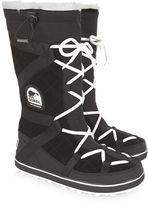 Sorel Black Glacy Explorer Long Boots
