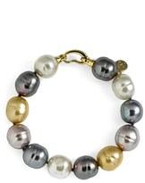 Majorica Women's 14Mm Baroque Pearl Single Row Bracelet
