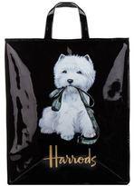 Harrods Large Westie With Lead Shopper Bag
