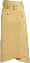 Joseph Berwick A-line cotton-sateen skirt