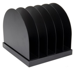 Mind Reader A2 5-Section Metal File Organizer