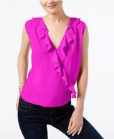 INC International Concepts Ruffled Top, Created for Macy's