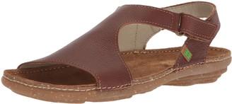 El Naturalista Women's N309 Soft Grain Wood/Torcal Flat Sandal 42 Medium EU (11 US)