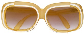 Christian Dior Pre-Owned Oversized Sunglasses