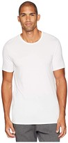 Jockey Essential Fit Supersoft Modal Crew Neck T-Shirt (White) Men's T Shirt