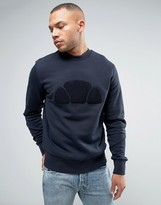 Ellesse Italia Sweatshirt With Towelling Logo