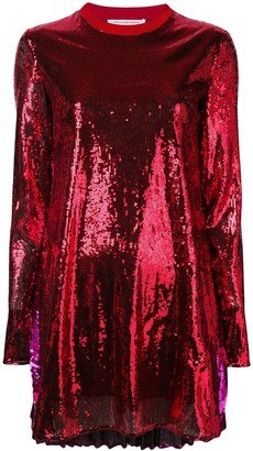 Philosophy di Lorenzo Serafini sequin short dress