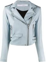 IRO pocket detail biker jacket