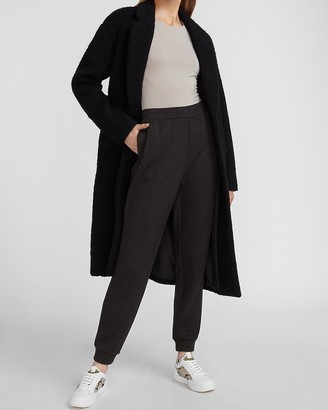 Express Wool-Blend Cocoon Coat