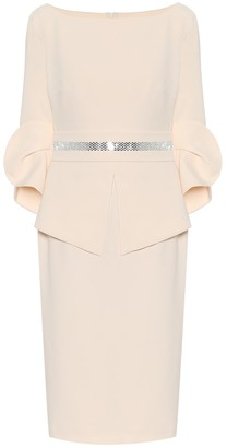 Safiyaa Alondra stretch-crApe midi dress