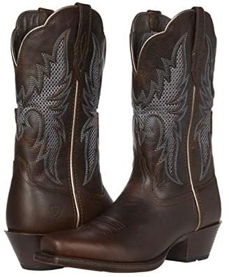 Ariat Showcase VentTek (Dark Whiskey) Cowboy Boots