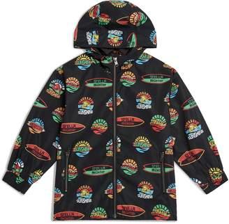 Stella McCartney Hello Sunshine Waterproof Hooded Jacket
