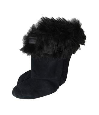 Hunter Faux Fur Cuff Boot Sock (Little Kid/Big Kid)